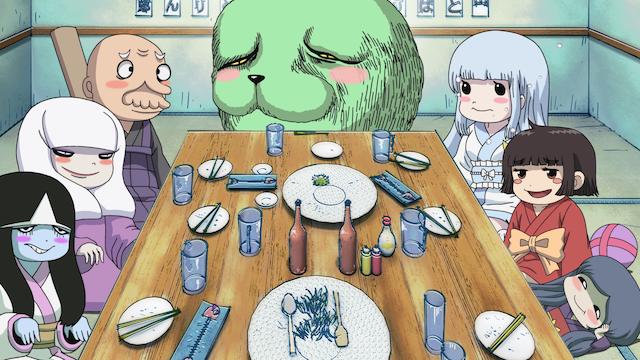 ざしきわらしのタタミちゃん 第8話 「化け物だらけの飲み会だ!」