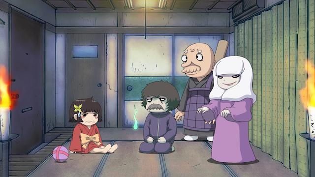 ざしきわらしのタタミちゃん 第3話 「怪談一丁!イナノガワさん」