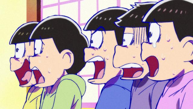 おそ松さん(第2期) 第2話 「祝・就職!!」「超洗剤」