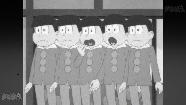 おそ松さん(第2期) 第1話 「ふっかつ おそ松さん」