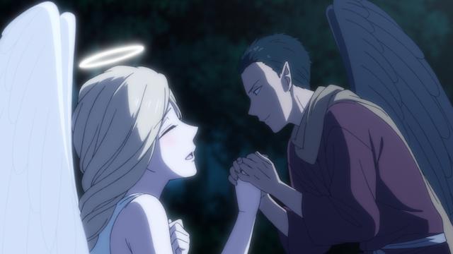 真夜中のオカルト公務員 #1 新宿上空の天狗と天使