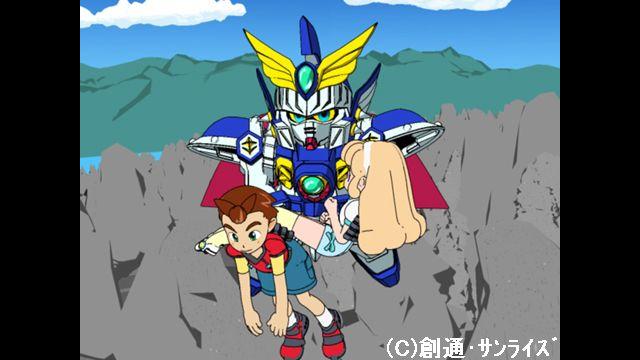 SDガンダムフォース 第3話 天駆ける騎士(ナイト) ゼロ