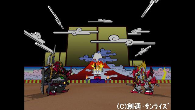 SDガンダムフォース 第19話 決闘!爆熱丸対阿修羅丸