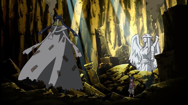 デジモンクロスウォーズ 第13話 タイキ、女神の戦士!