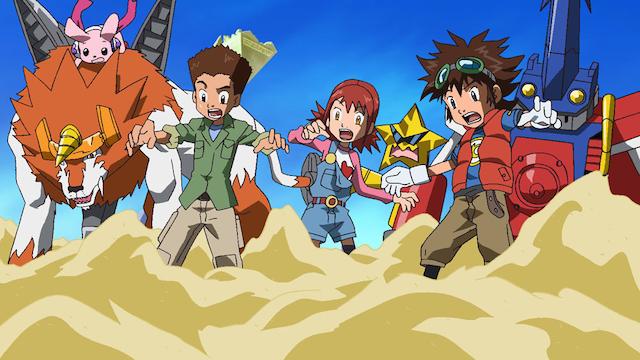 デジモンクロスウォーズ 第12話 サンドゾーン、遺跡で大冒険!