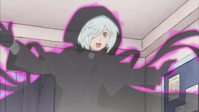 黒魔女さんが通る!! 1話 学校の怪談VS黒魔女さん