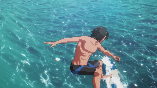 WAVE!!~サーフィンやっぺ!!~(TVシリーズ) 第3波 初めての大会